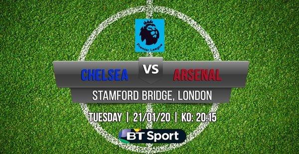 Chelsea v Arsenal Free Betting Tips